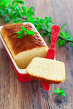 Loaf cake Stock Photography