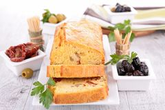 Loaf cake Royalty Free Stock Photo
