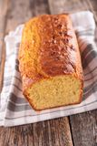 Loaf cake Stock Photo