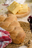 Loaf of challah Stock Photography
