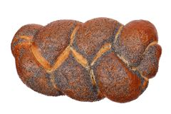Loaf of challah bread Stock Photos