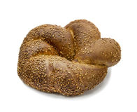 Loaf of challah for shabbath Royalty Free Stock Photography