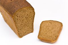 A loaf and a chunk Royalty Free Stock Photography