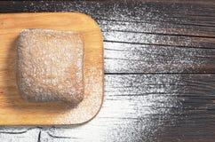 Loaf of ciabatta bread Royalty Free Stock Photos
