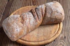 Loaf ciabatta bread Stock Image