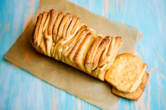 Loaf of Cinnamon Bread Royalty Free Stock Images