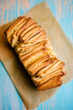 Loaf of Cinnamon Bread Royalty Free Stock Photography