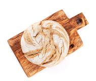 Loaf of crusty bread Stock Images