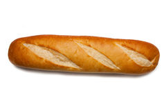Loaf of french bread Stock Photos
