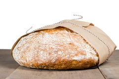 Loaf of fresh baked bread Royalty Free Stock Image