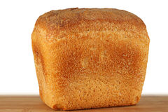 A loaf of fresh bread. Royalty Free Stock Photo
