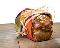 Loaf of fresh whole wheat bread Royalty Free Stock Photography