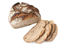 Loaf of German Bread, isolated Stock Image