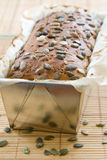 Loaf of home-baked rye bread Royalty Free Stock Photo