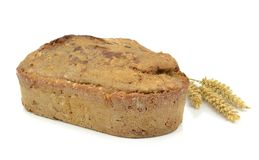 A loaf of home made brown bread Stock Photography