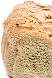 Loaf of Jewish style onion rye bread Stock Photo