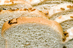 Loaf of Jewish style onion rye bread Royalty Free Stock Photography