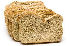 Loaf of kosher Jewish style onion rye bread Royalty Free Stock Photo