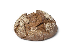 Loaf of multi grain farmers bread Royalty Free Stock Images