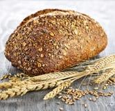 Loaf of multigrain bread stock images