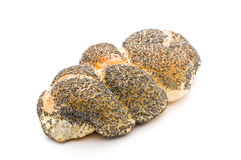 Loaf with poppy seeds Royalty Free Stock Photo