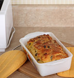 Loaf of Raisin Bread Royalty Free Stock Photography