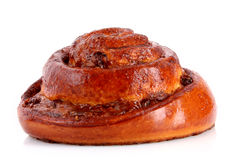 Loaf with raisins isolated Royalty Free Stock Image