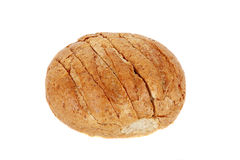 Loaf of Round Whole Grain Bread Stock Photos