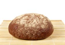 A loaf of rye bread. This is a loaf of rye bread Royalty Free Stock Images