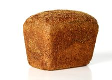 Loaf of rye bread. With coriander Stock Photography