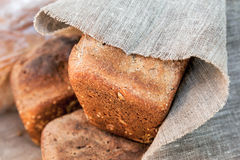 Loaf of rye bread Royalty Free Stock Image