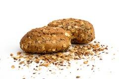 Loaf of rye bread. Healthy food, loaf of rye bread stock image