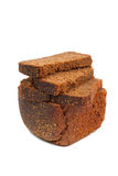 Loaf of rye bread isolated Stock Photo