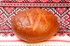 A loaf of rye bread Stock Photos