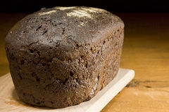 Loaf of rye bread Stock Image