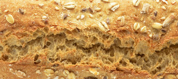 Loaf of seeded rye Stock Photo