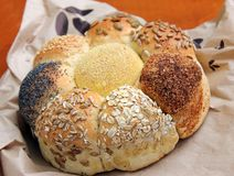 Loaf of Seeded speicality bread Stock Image