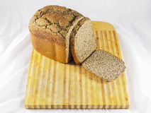 Loaf of self-made gluten-free bread Royalty Free Stock Images