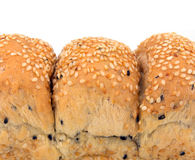 Loaf of Sesame Bread Stock Photo