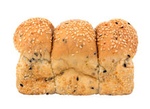 Loaf of Sesame Bread Royalty Free Stock Images