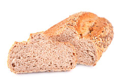Loaf and slice bread Royalty Free Stock Photos