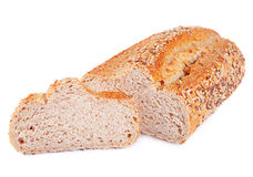 Loaf and slice bread Royalty Free Stock Photography