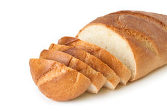 Loaf sliced Stock Photography