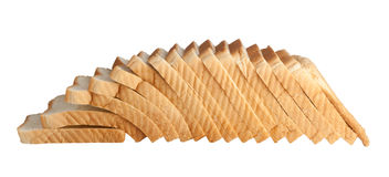 Loaf of sliced bread Royalty Free Stock Photos