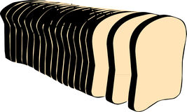 Loaf of Sliced Bread Royalty Free Stock Image