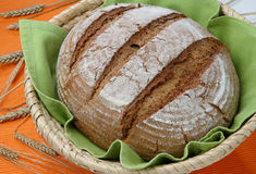 Loaf of spelt bread Royalty Free Stock Photo