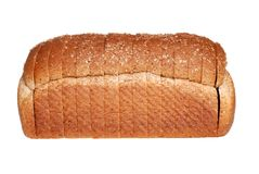 Loaf of stone milled bread Stock Photo