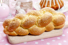 Loaf of sweet bread Royalty Free Stock Images