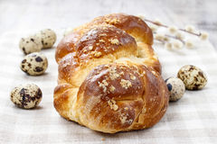 Loaf of sweet bread Stock Photo