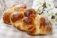 Loaf of sweet bread Royalty Free Stock Photo
